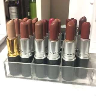 Preloved Authentic MAC lipsticks