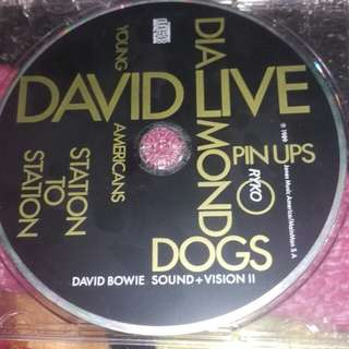 David Bowie Sound + Vision Disc II (2) 1989