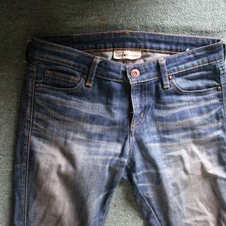 back number raw denim