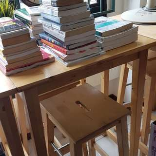 IKEA high tables & chairs