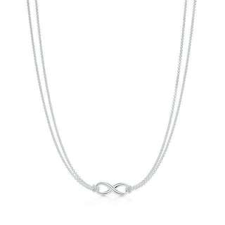 TIFFANY & Co. Infinity necklace 16in