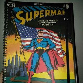 DC Comics: Superman Typo A4 Notebook