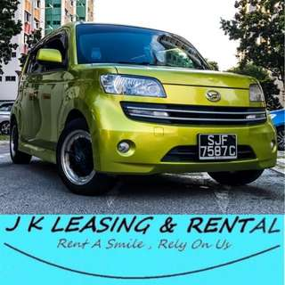 *SUPER HOT ITEM* DAIHATSU MATERIA UBER GRAB HATCHBACK PROMO RENT RENTAL CHEAP
