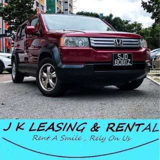 *HOT ITEM PROMO* HONDA CROSSROAD UBER GRAB SUV MPV RENT RENTAL PROMO