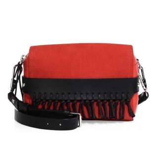 Phillip Lim Bianca Fringed Suede Crossbody