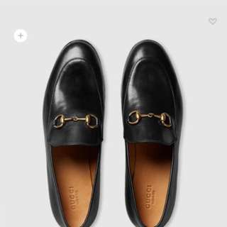Gucci jordaan loafer (size 38.5 原價$6500 全新)