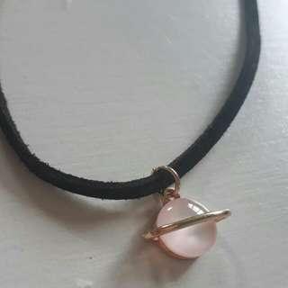Planet Chocker necklace tumblr