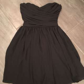 Seven Sisters (M Boutique) Black Strapless Dress