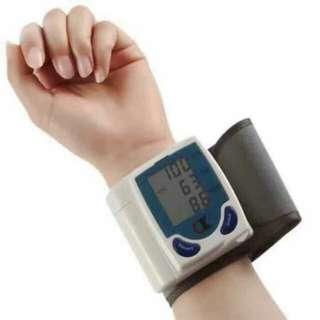 Automatic Wrist Watch BP Monitor