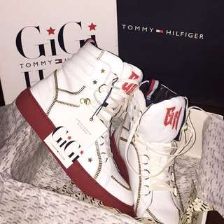 LIMITED EDITION TOMMY HILFIGER X GIGI HADID SNEAKERS