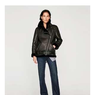 Zara aviator/Biker jacket
