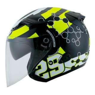 Kyt Helmet comes with helmet bag. Rarely use.