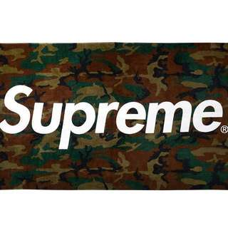 Supreme 2013 camo beach towel