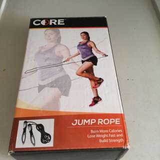 Yoga Ball and Jump rope