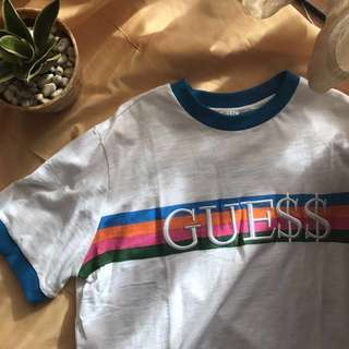 DUPE Guess X A$AP Ringer Tee (S)