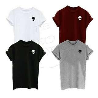 Alien War Design T-Shirt Custom Tee