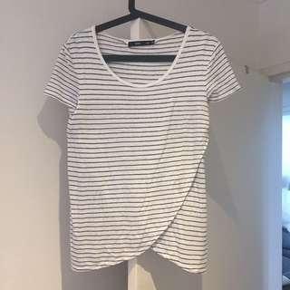 Sportsgirl striped t shirt