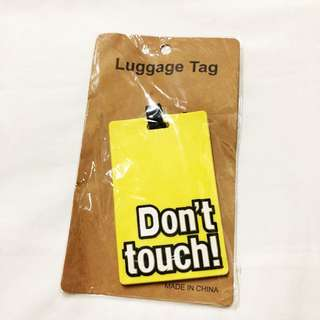 Don't Touch Luggage / Bag Tag