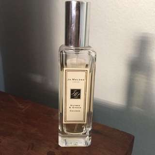 Jo Malone Nutmeg & Ginger Authentic 30ml (Used)