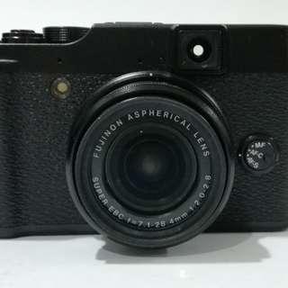 Fujifilm X10 Camera + UV filter