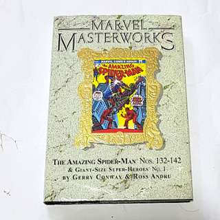 MARVEL MASTERWORKS SPIDER-MAN VOL 14 GOLD FOIL VARIANT MARVEL COMICS