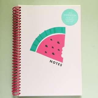 Kikki k A5 notebook