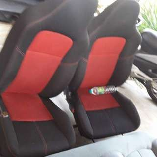 Suzuli Swift sports bucket seats