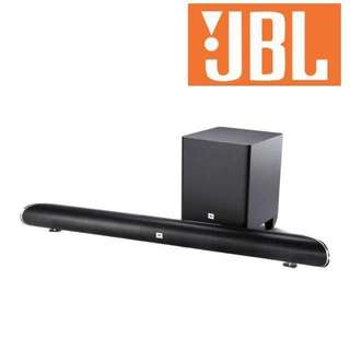 Brand New JBL bluetooth soundbar w wireless subwoofer SB250 (sealed)