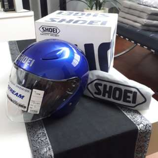Authentic BNIB Shoei J-Stream Royal Blue