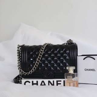 Chanel Replica Quilted Boy Bag