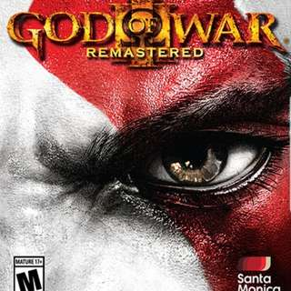 GOW 3 Remastered PS4