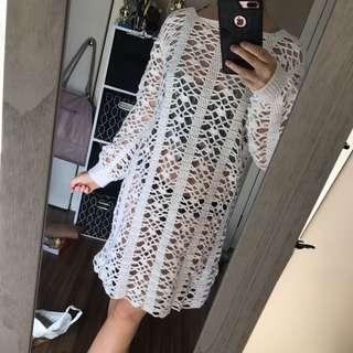handmade from germany crochet dress