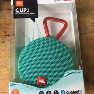 JBL Clip 2 Bluetooth Speakers