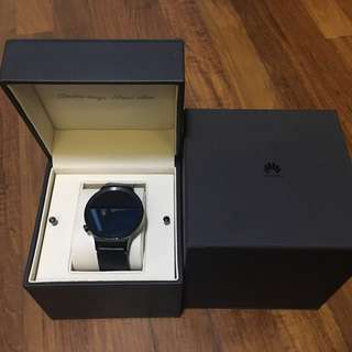 HUAWEI WATCH SERIES 1 with genuine leather strap