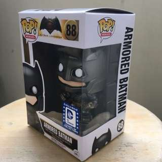 Funko Pop BvS Armored Batman Legion of Collectors Exclusive