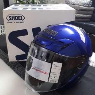Authentic BNIB Shoei JF3 Royal Blue