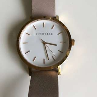 The Horse Rose Gold Watch