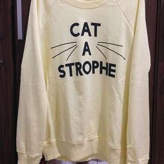 Bershka Cat A Strophe Sweater