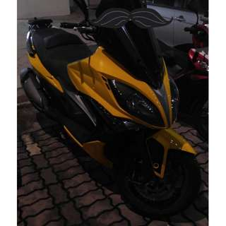 WTS Kymco xciting 400 ABS