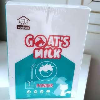 🥛😸🐶🐰HOWBONE Goat's Milk