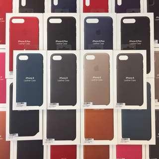 1月促銷 正原廠 Apple iphone 8 原廠矽膠保護套 皮革背蓋 i7可共用 多色可選 台灣公司貨 假一賠十