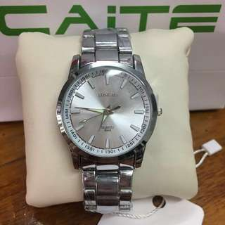 "Caite "" Longbo "" Stainless Steel Watch"