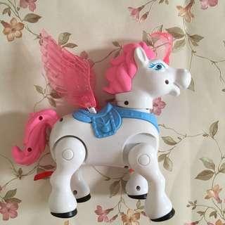 Preloved Unicorn Toy