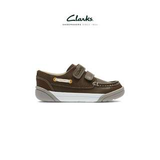 💯Original New CLARKS Leather Kid Shoes
