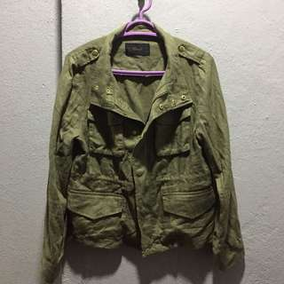 PARKA JACKET GREEN WOMEN