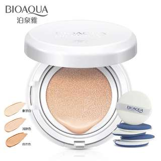 BIOAQUA Air cushion BB Cream isolation bb nude Concealer , oil control moisturizing liquid foundation cc cream for female