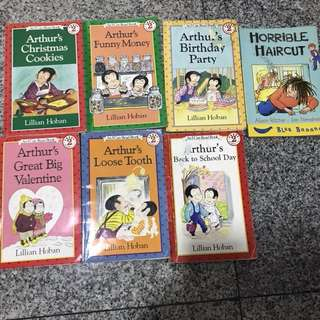 Arthur's books for Clearance Sale