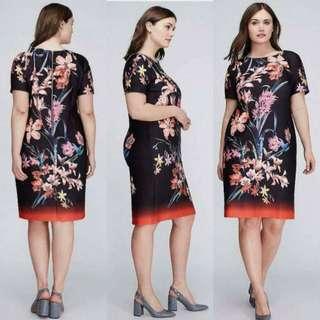 Black 3D design dress