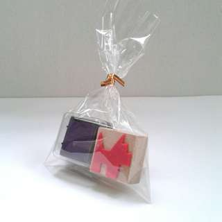 New Handcrafted Stamp with Stamp Ink S$8.00