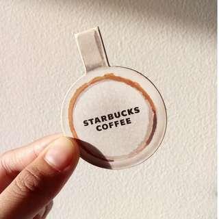 Starbucks Planner/Book Magnet/ Bookmark